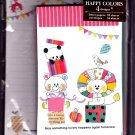 San-X Japan Happy Colors Letter Set 2012 Kawaii