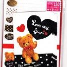 Mind Wave Japan Love My Bear Letter Set with Stickers Kawaii