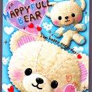 Q-Lia Japan Happyfull Bear Mini Memo Pad Kawaii