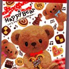Pool Cool Japan Happy Bear Mini Memo Pad Kawaii