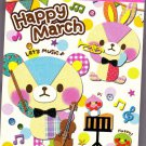 Fortissimo Japan Happy March Mini Memo Pad Kawaii
