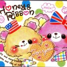 Crux Japan Honey & Ribbon Mini Memo Pad Kawaii