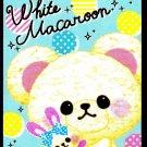 Crux Japan White Macaroon Mini Memo Pad Kawaii