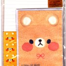 Kamio Japan Stroll of Bear Letter Set with Stickers Kawaii