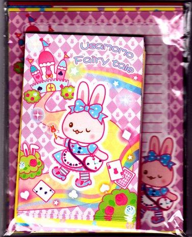 Creative Yoko Japan Usamomo Fairy Tale Letter Set Kawaii