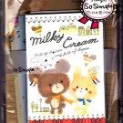 Crux Japan Milky Cream Letter Set Kawaii