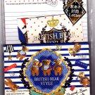 Crux Japan British Bear Style Letter Set (Blue) Kawaii