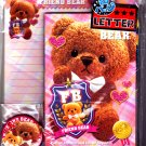 Kamio Japan Friend Bear Letter Set Kawaii