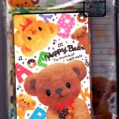 Pool Cool Japan Happy Bear Letter Set Kawaii