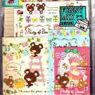 Crux Japan Party of Bears Letter Set with Stickers Kawaii