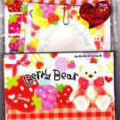 Q-Lia Japan Berry Bear Letter Set with Stickers Kawaii