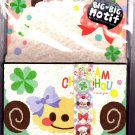 Q-Lia Japan Cream Chouchou Letter Set with Stickers Kawaii