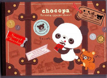 San-X Japan Chocopa Memo Pad with Stickers (B) 2012 Kawaii