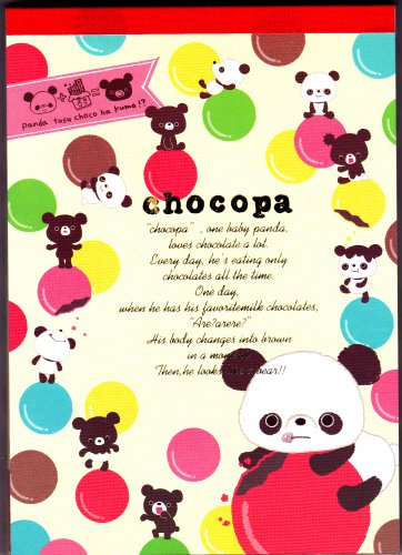 San-X Japan Chocopa Memo Pad with Stickers (A) 2011 Kawaii