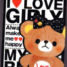 Fortissimo Japan I Love Girly Memo Pad with Stickers Kawaii