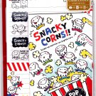 Mind Wave Japan Snacky Corns Letter Set with Stickers Kawaii