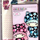 Sanrio Japan Little Twin Stars Letter Set 2012 Kawaii