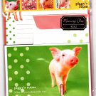Q-Lia Japan Piggy's Room Letter Set with Stickers Kawaii