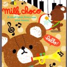 Q-Lia Japan Milk Choco Mini Memo Pad Kawaii