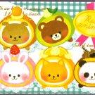 Crux Japan Roll Animal Mini Memo Pad Kawaii