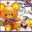 Kamio Japan Dear My Bear Mini Memo Pad Kawaii
