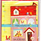 Kyowa Japan Full of Life House Letter Set Kawaii