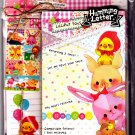 Kamio Japan Lilliput Toys Letter Set with Stickers Kawaii