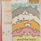Mind Wave Japan Musharinbo Letter Set with Stickers Kawaii