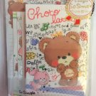 Crux Japan Choco Latte Letter Set Kawaii