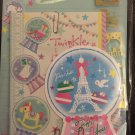 Q-Lia Japan Twinkle Dome Letter Set with Stickers Kawaii