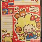 Daiso Japan Merrys Letter Set with Stickers Kawaii