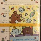 Kyowa Japan A Merry Bath Time Letter Set Kawaii