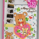 Mind Wave Japan Merry Bear Sweet Letter Set with Stickers Kawaii