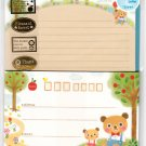 Mind Wave Japan Pleasant Forest Letter Set with Stickers Kawaii
