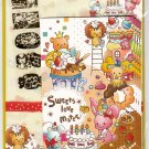 Mind Wave Japan Sweets Love Mates Letter Set with Stickers Kawaii