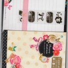 Mind Wave Japan Honey Station Letter Set with Stickers Kawaii