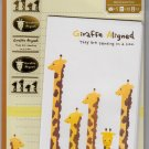 Mind Wave Japan Giraffe Aligned Letter Set with Stickers Kawaii