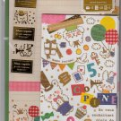 Mind Wave Japan Mon Copain Letter Set with Stickers Kawaii