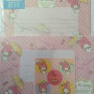 Sanrio Japan My Melody and Umbrella Letter Set with Stickers 2013 Kawaii