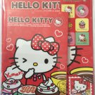 Sanrio Japan Hello Kitty and Cupcakes Letter Set with Stickers 2013 Kawaii