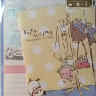 Mind Wave Japan Kuta Kutime Letter Set with Stickers Kawaii
