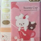 Mind Wave Japan Bearmy Cup Letter Set with Stickers Kawaii