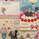 Q-Lia Japan Humming Party Letter Set Kawaii