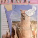 Q-Lia Japan Alpaca Letter Set with Stickers Kawaii