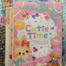 Q-Lia Japan Cutie Time Letter Set with Full Sheet of Stickers Kawaii