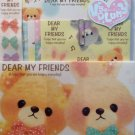 Q-Lia Japan Dear My Friends Letter Set Kawaii