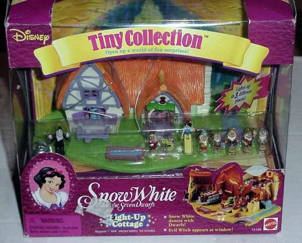 Polly Pocket Snow White Playset - COMPLETE! - MIB