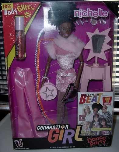 Barbie Friend 1998 & 1999 Generation Girl Nichelle NIB