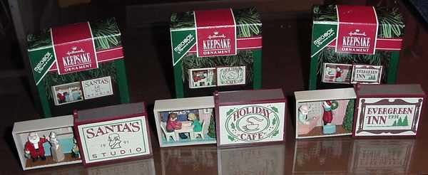 Hallmark MATCHBOX MEMORIES Series - All 3 MIB