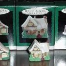 Hallmark Lot Miniature OLD ENGLISH VILLAGE Series - MIB